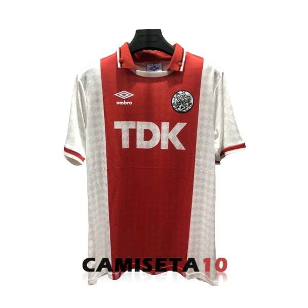 camiseta ajax retro primera 1988-1990