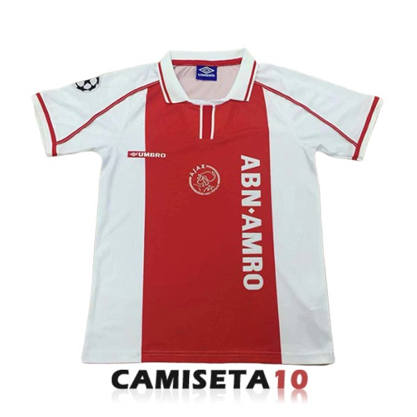 camiseta ajax retro primera 1998