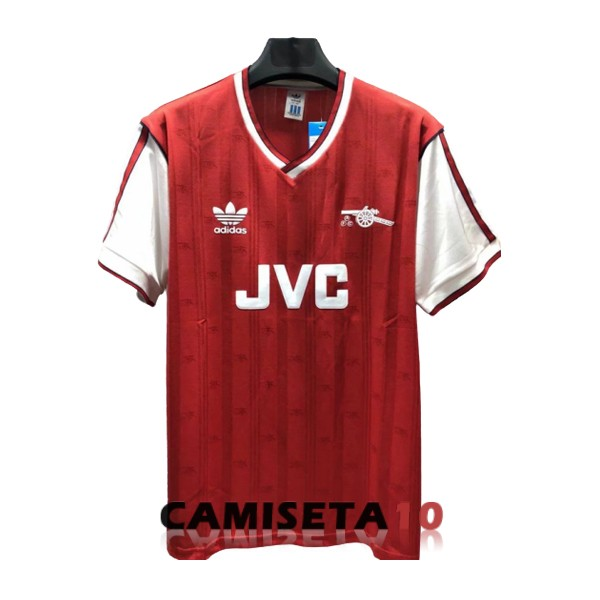 camiseta arsenal retro primera 1986-1988