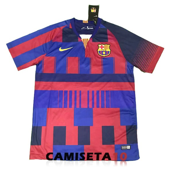 camiseta barcelona 20th conmemorativa rojo 9868a0e9b35
