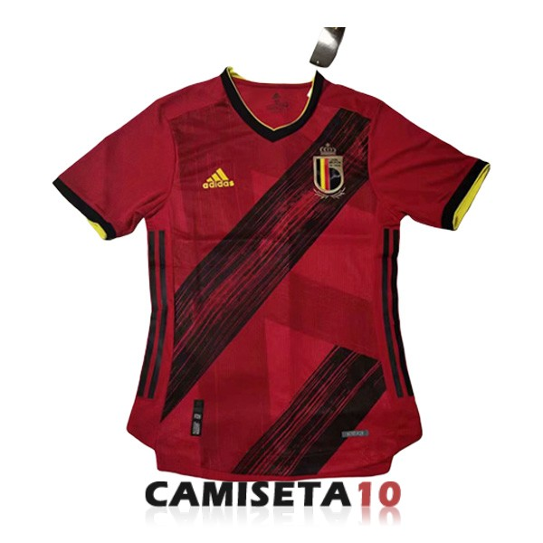 camiseta belgica 2020 primera version player