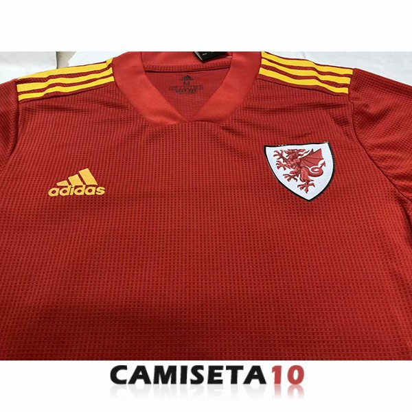 camiseta gales 2020 primera version player