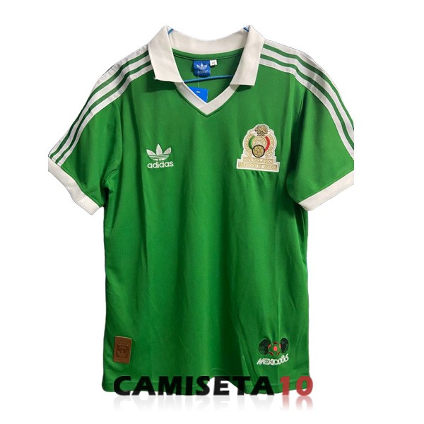 camiseta mexico retro primera 1986