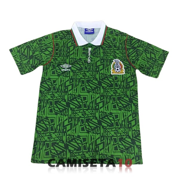 camiseta mexico retro primera 1994