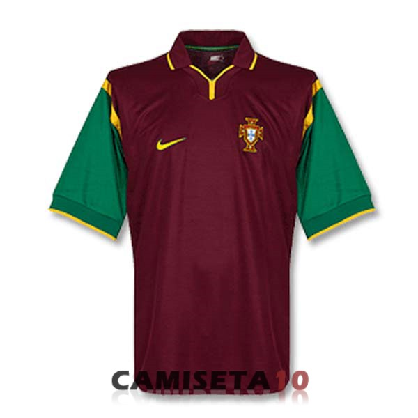 camiseta portugal retro primera 1999
