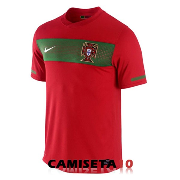 camiseta portugal retro primera 2010