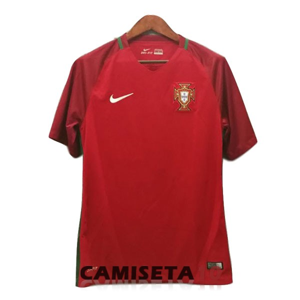 camiseta portugal retro primera 2016