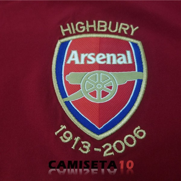 camiseta retro arsenal 2005 2006 primera