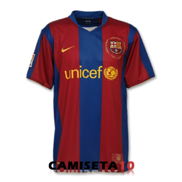 camiseta retro barcelona 50th aniversario edicion