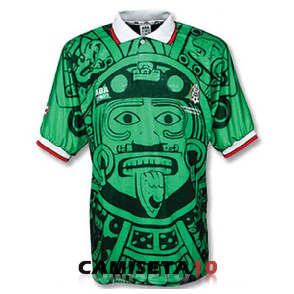 camiseta retro mexico 1998 primera