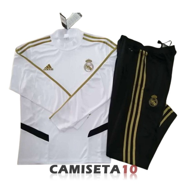 chandal real madrid cuello alto 2019-2020 blanco