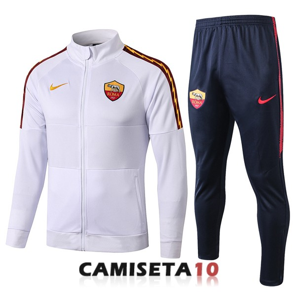 chaqueta as roma 2019-2020 blanco