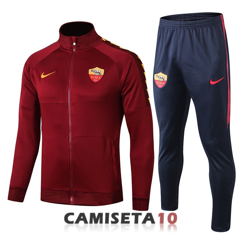 chaqueta as roma 2019-2020 rojo