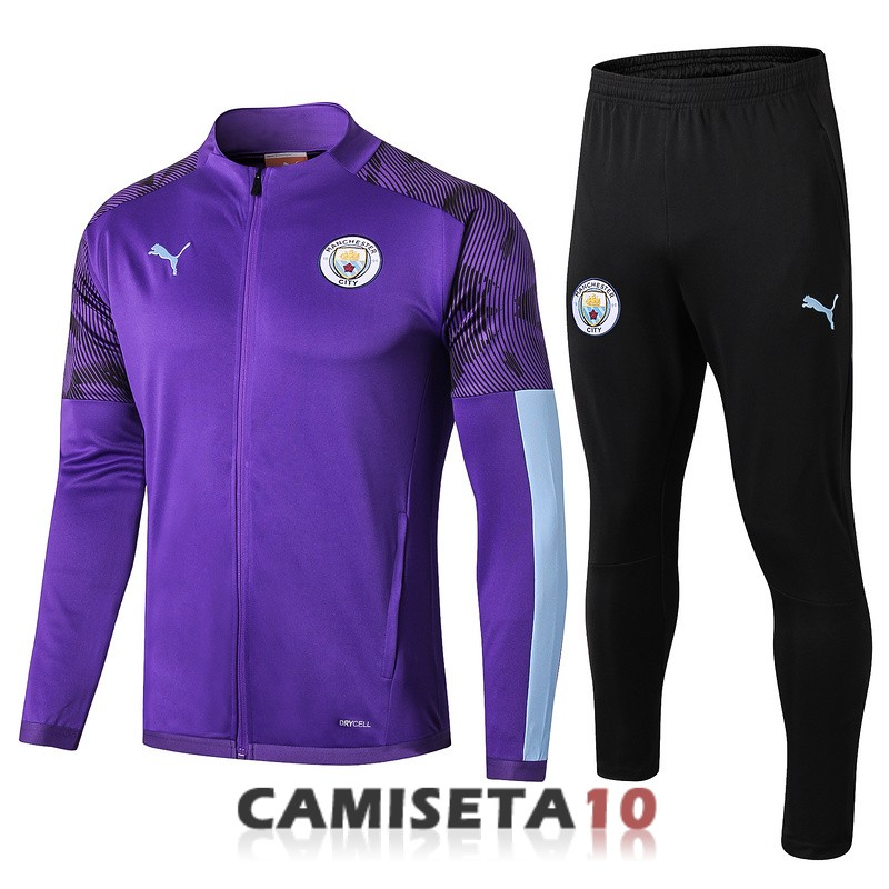 chaqueta manchester city 2019-2020 purpura