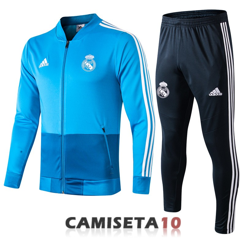 chaqueta real madrid 2019-2020 azul
