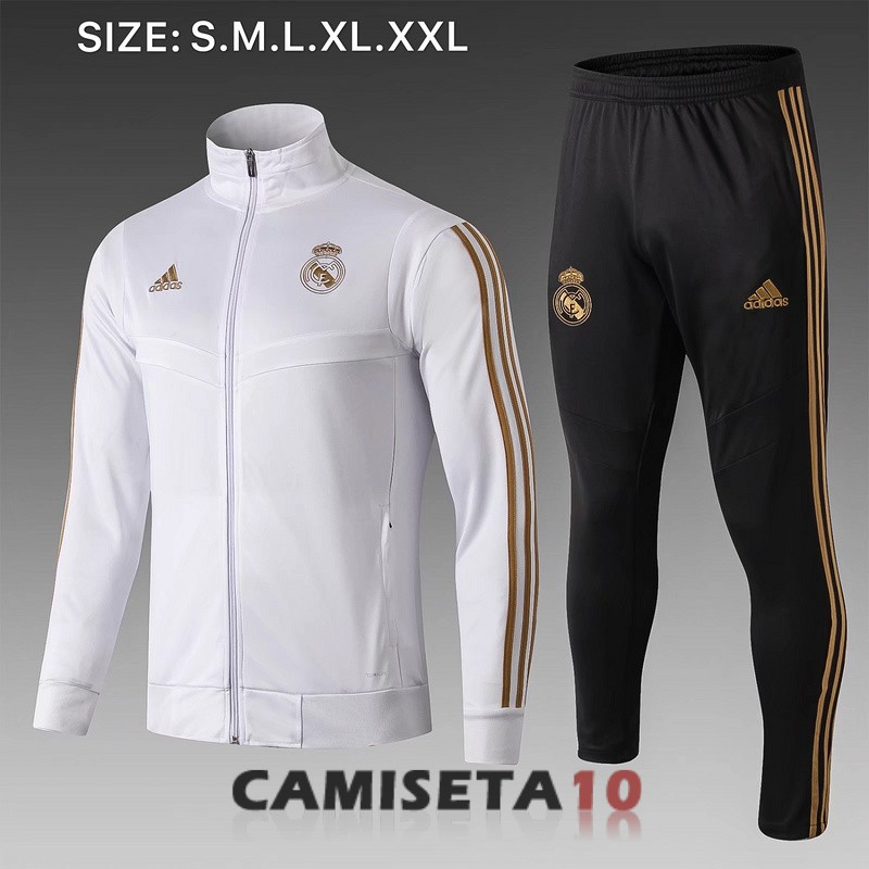 chaqueta real madrid 2019-2020 blanco B