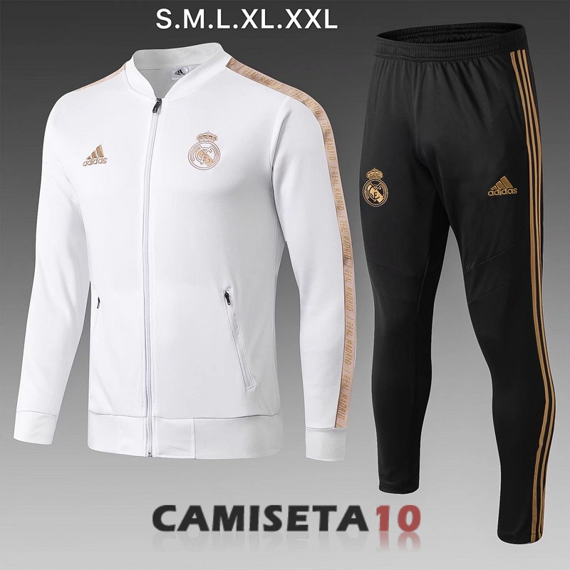 chaqueta real madrid 2019-2020 blanco