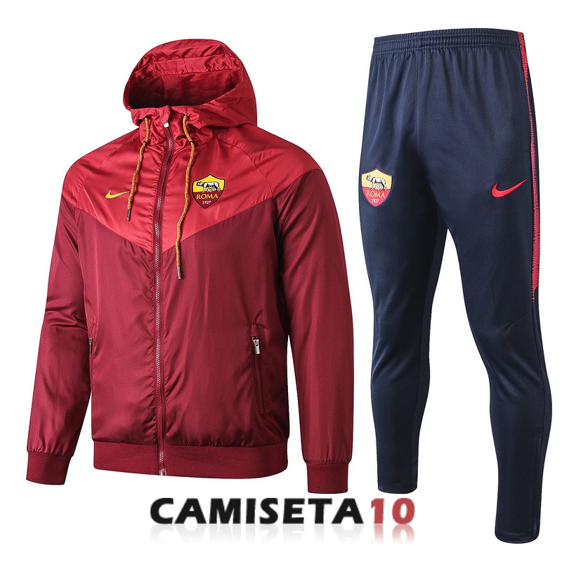 rompevientos as roma 2019 2020 rojo