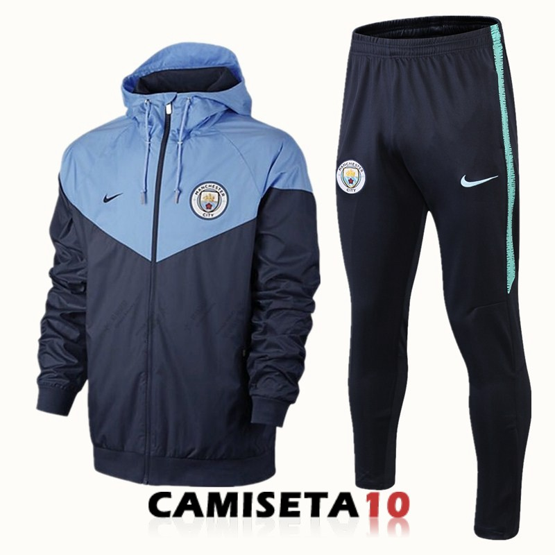 rompevientos manchester city 2018 2019 real azul